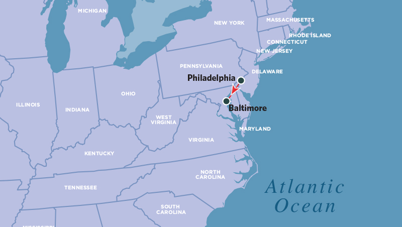 Philadelphia And Baltimore Family Adventure Amtrak Vacations - Where is baltimore